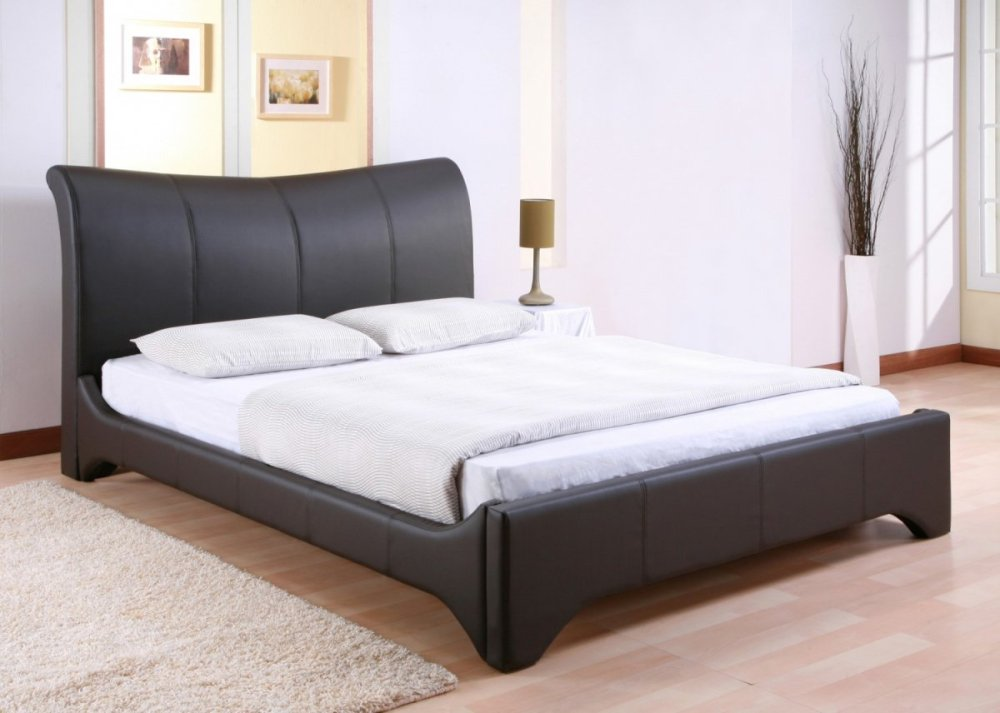 Black Modern Queen Bed Frame