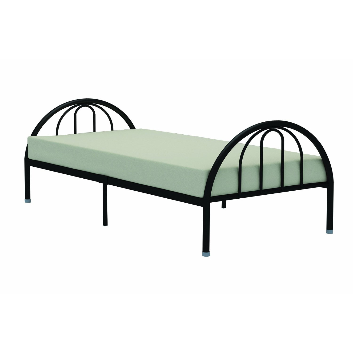 Black Platform Bed Frame Twin
