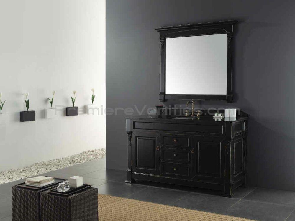 Black Vanity Bathroom Ideas
