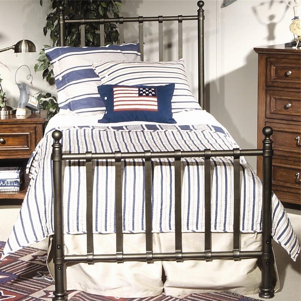 Blue Twin Bed Frame