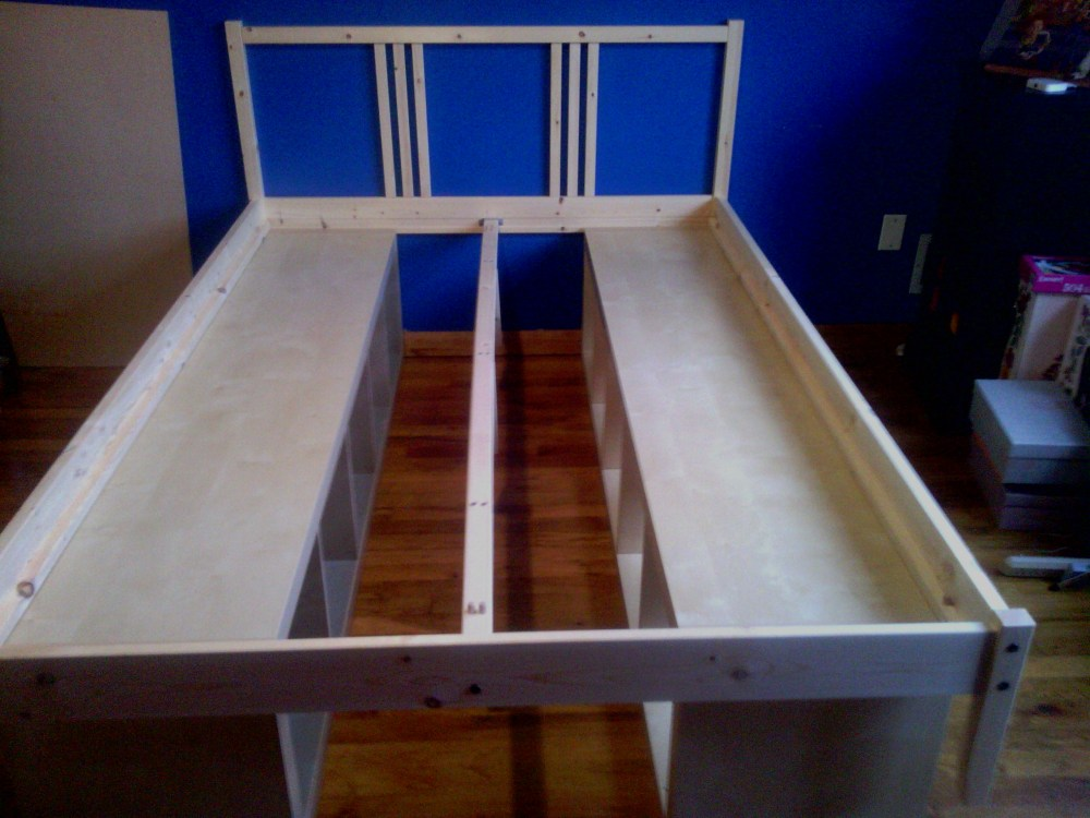 Bookcase Bed Frame Plans
