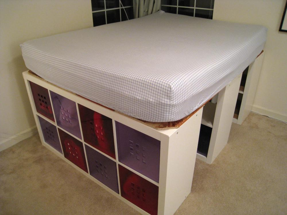 Bookshelves Bed Frame