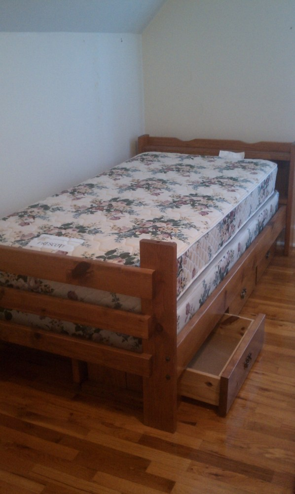 Box Bed Frame Twin