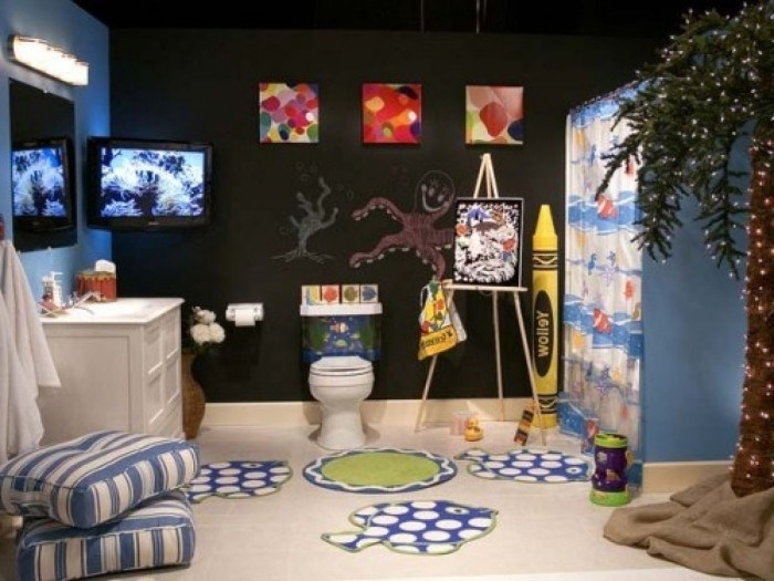 Boy Girl Bathroom Decorating Ideas