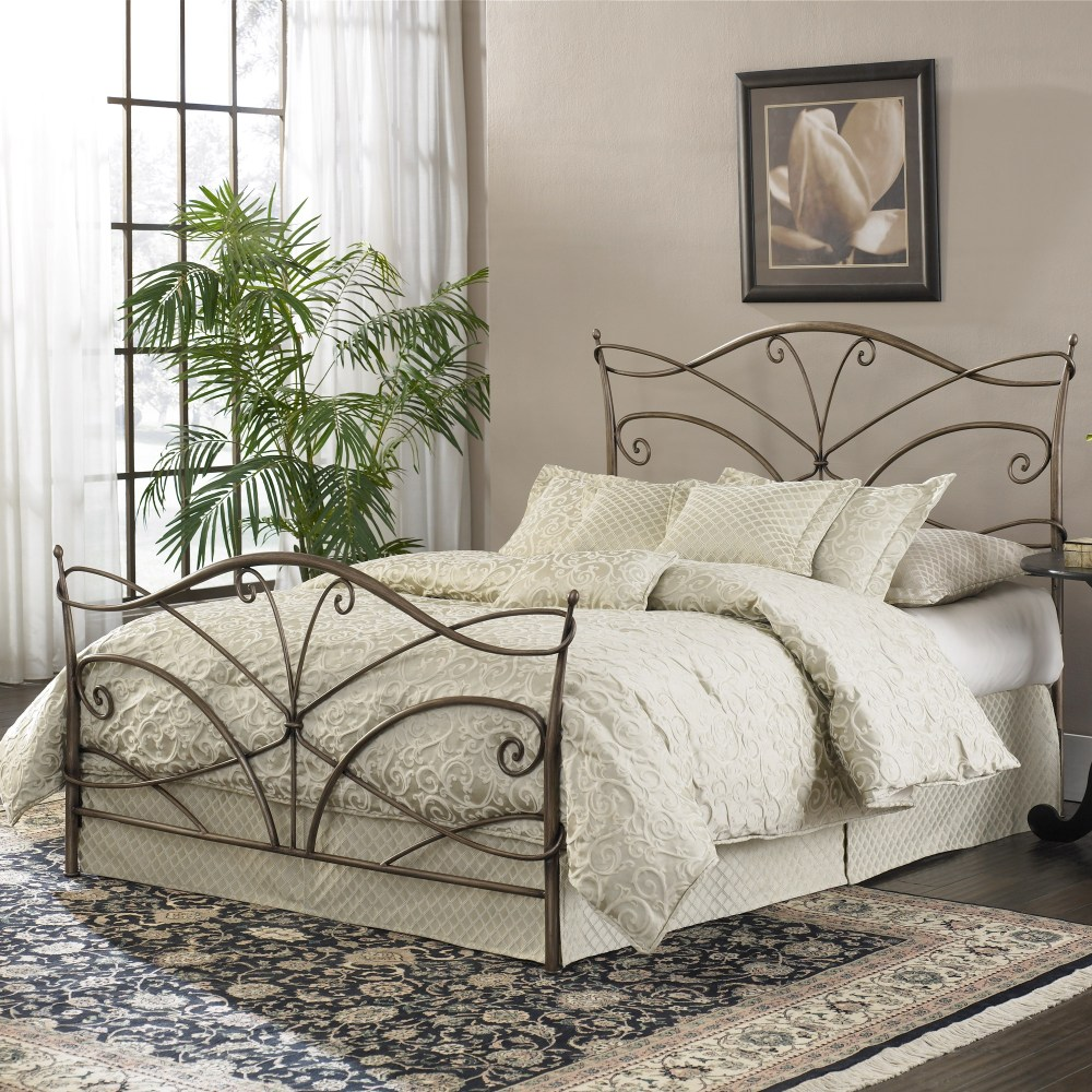 Bronze Iron Bed Frame