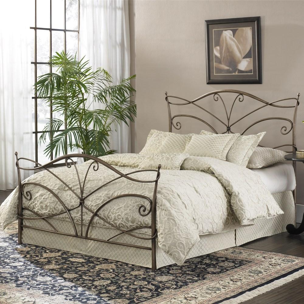 Bronze Iron Bed Frame