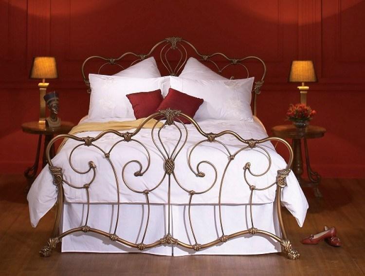 Bronze Metal Bed Frame