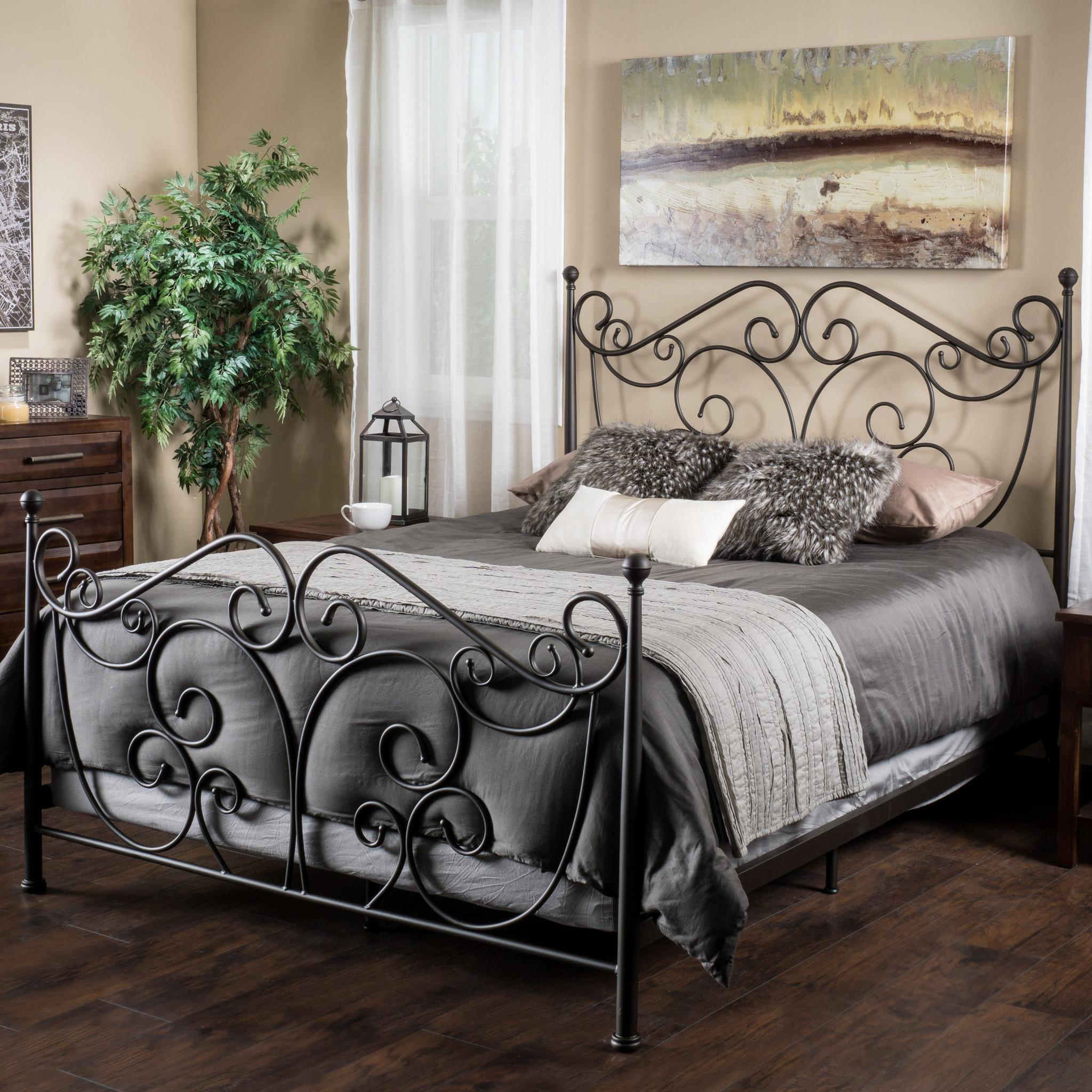 Bronze Queen Bed Frame