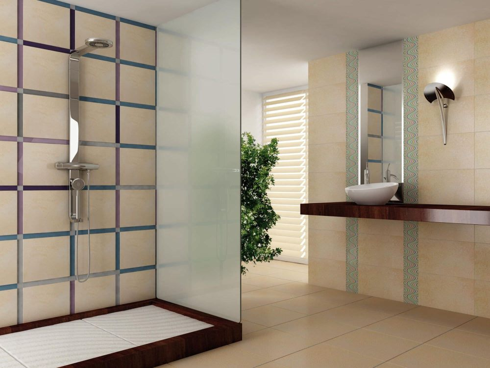 Brown Beige Bathroom Ideas