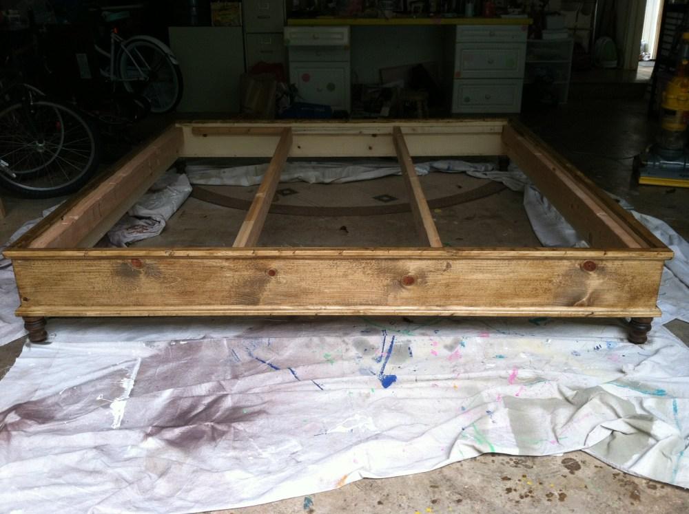 Build A Bed Frame Plans