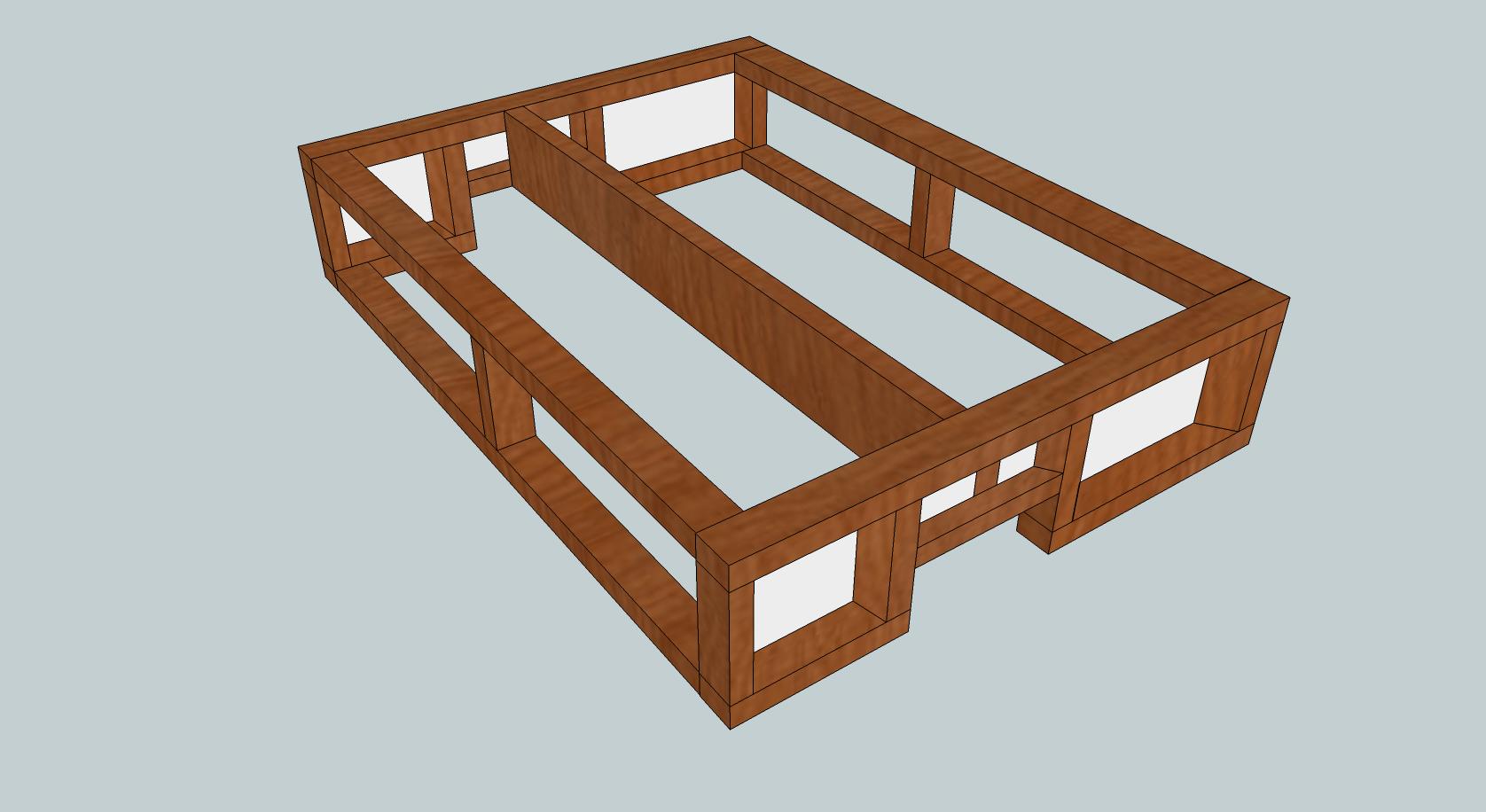 Build Bed Frame For Van