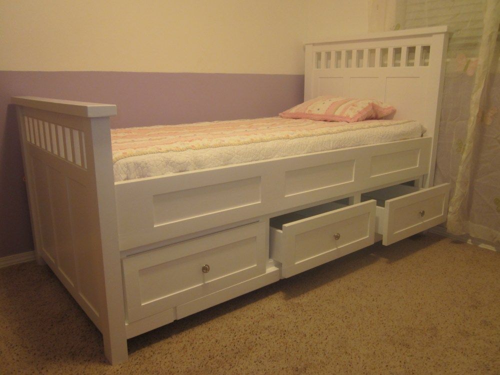 Build Cheap Queen Platform Bed Frame