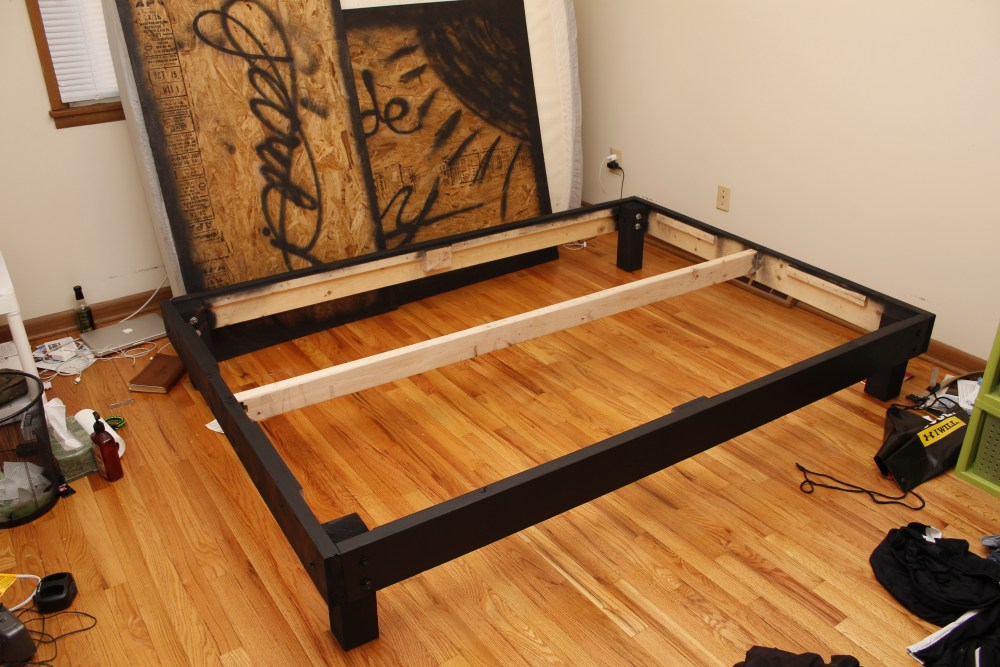 Build Your Own Bed Frame Platform