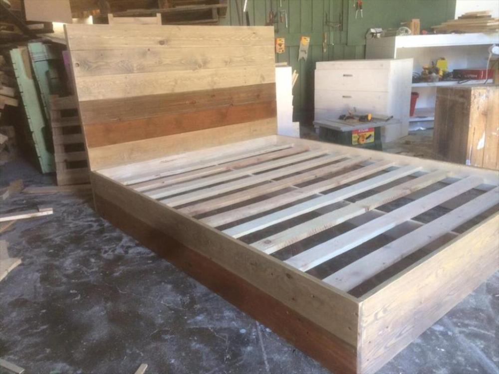 Building A Bed Frame With Storage