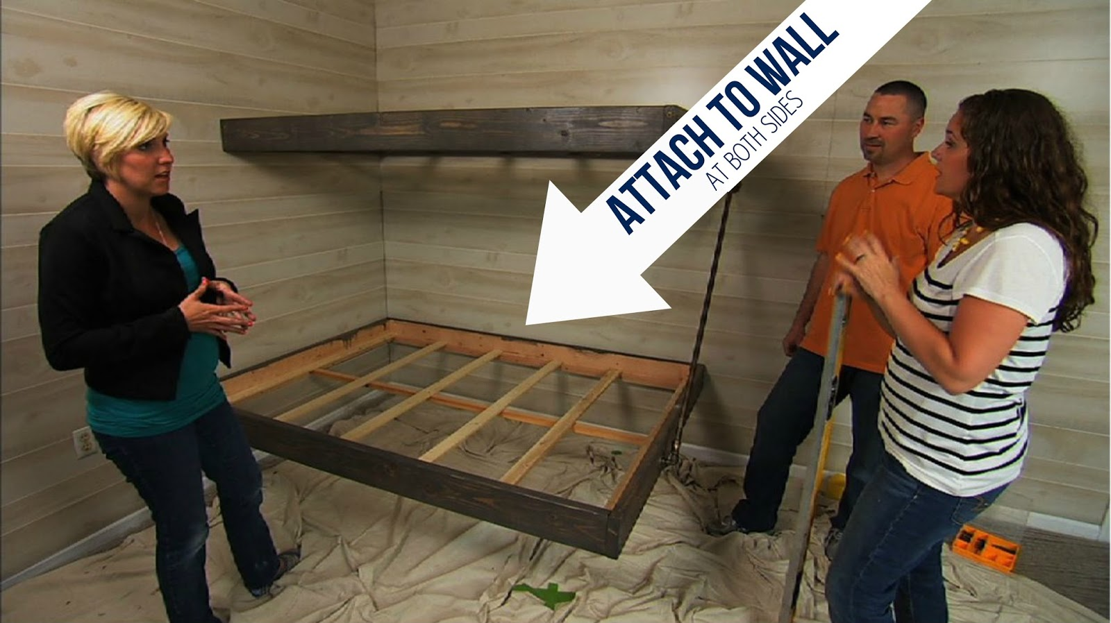 Bunk Bed Frame Diy