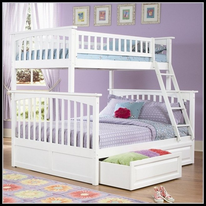 Bunk Bed Frame Twin Over Queen