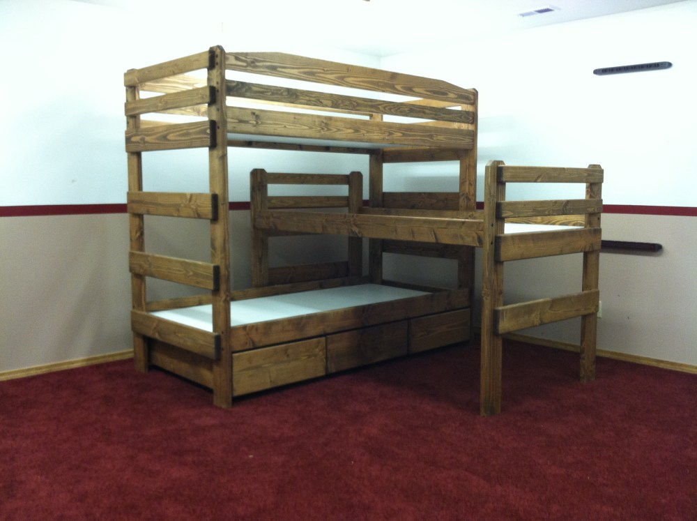 Bunk Bed Frames Ebay