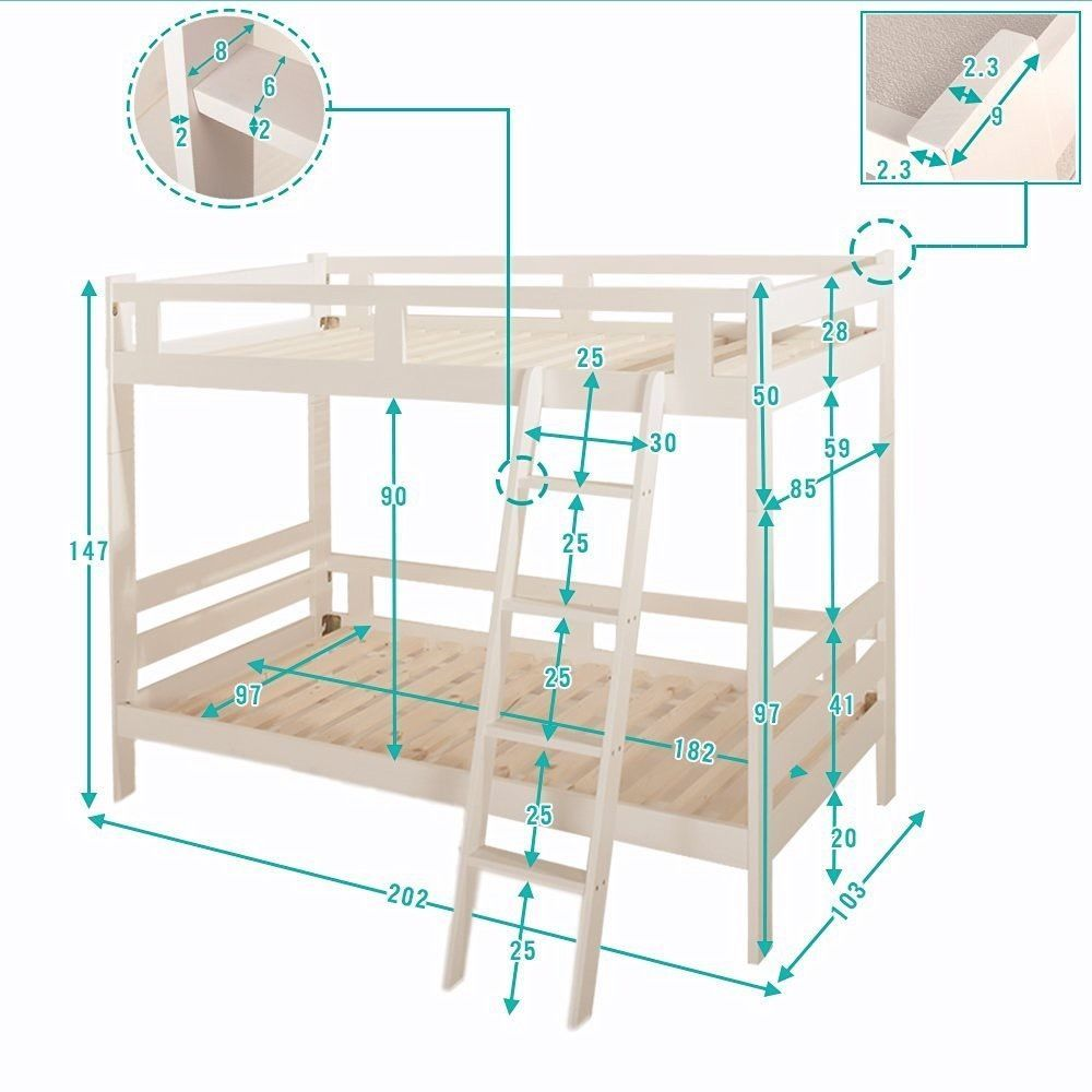 Bunk Bed Frames Only