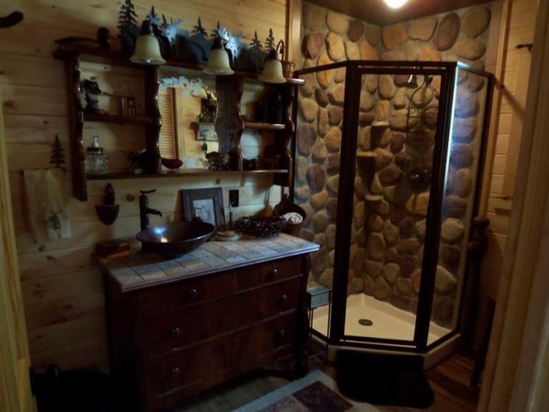 Cabin Bathroom Decorating Ideas