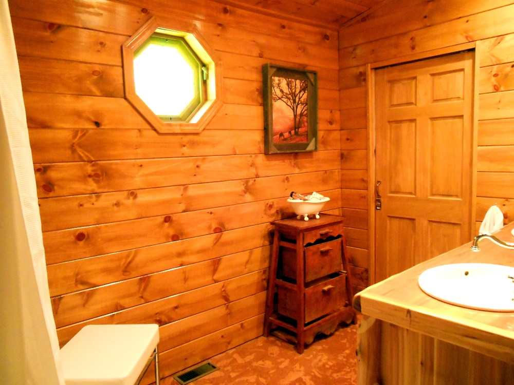 Cabin Bathroom Images
