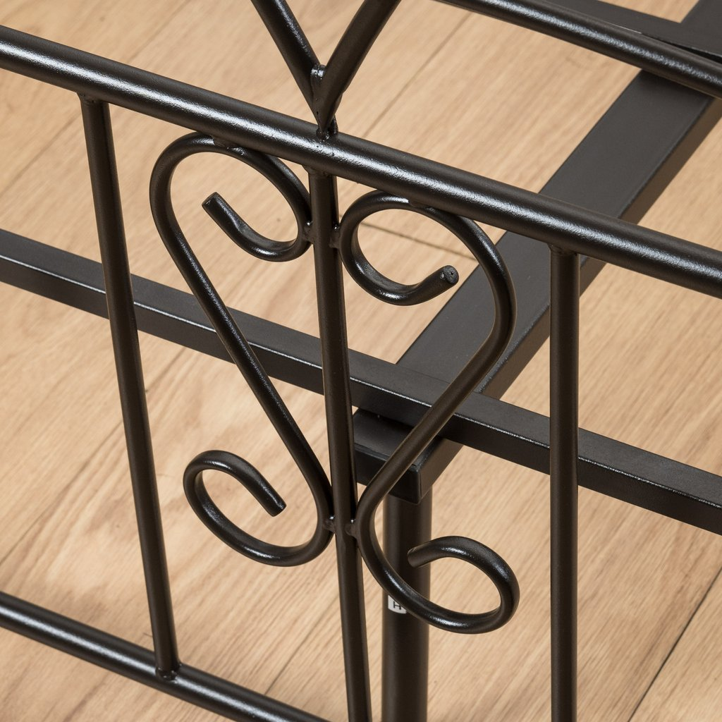 Cal King Iron Bed Frame