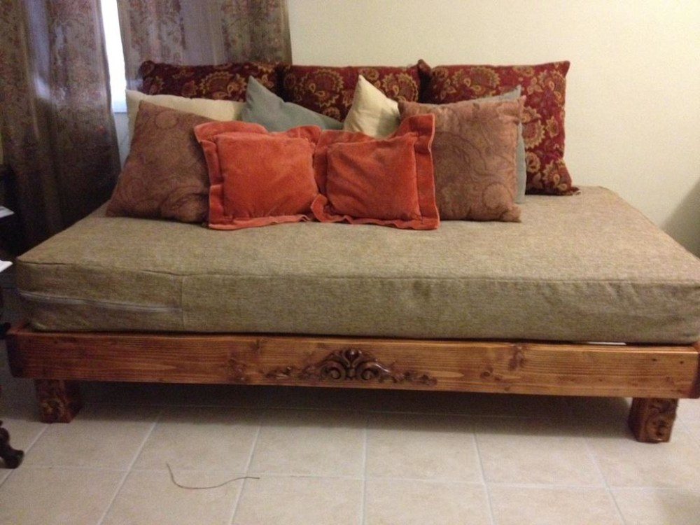 Cal King Wood Slat Bed Frame