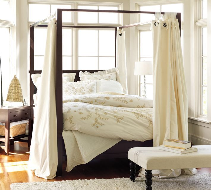 California King Canopy Bed Frame
