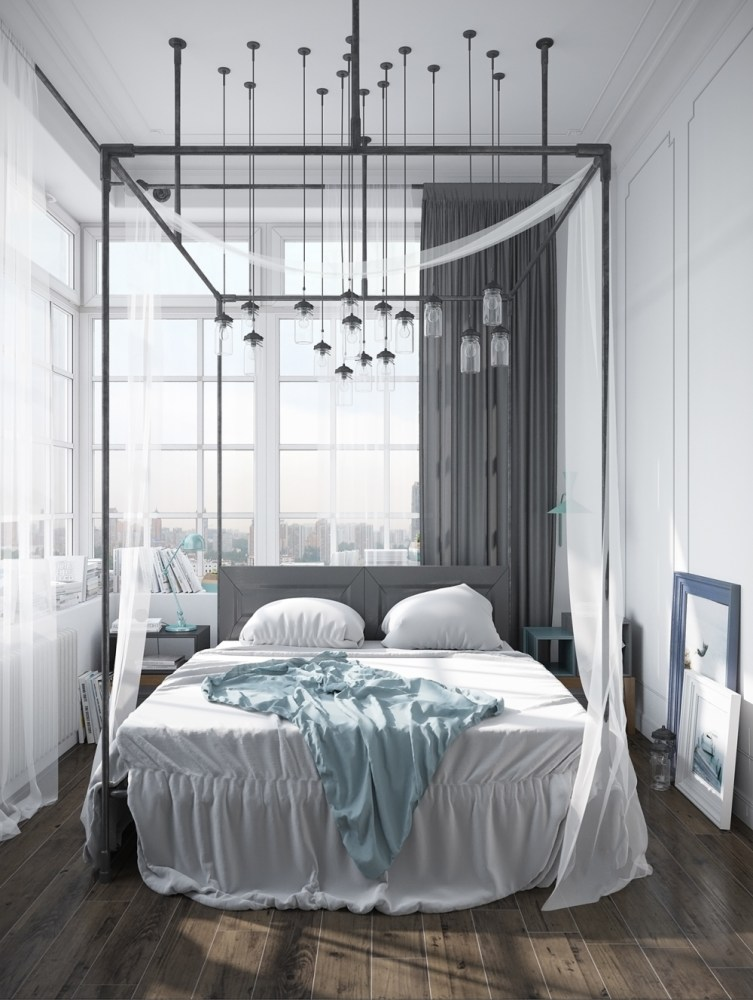 Canopy Bed Frame Diy