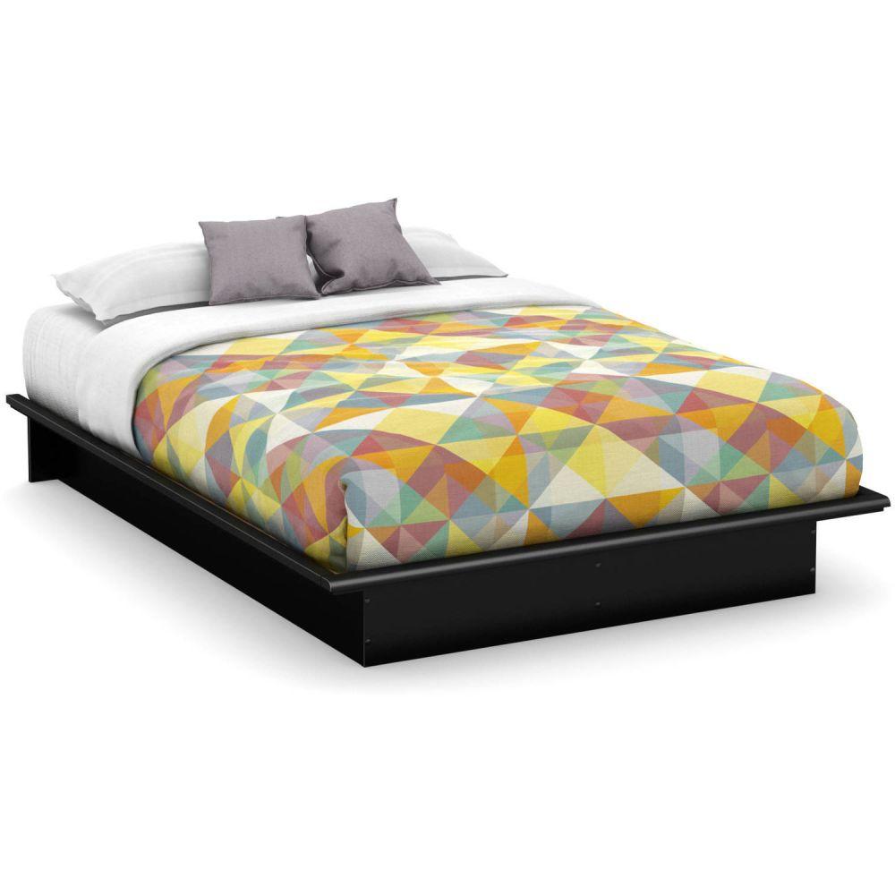 Cheap Black Full Size Bed Frame