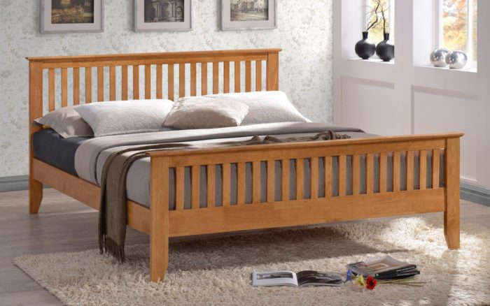 Cheap Full Size Canopy Bed Frame