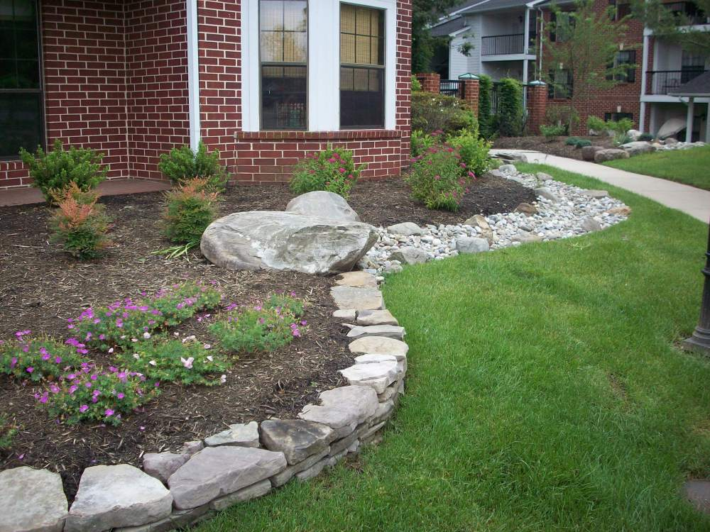 Cheap Landscape Ideas For Front Of House