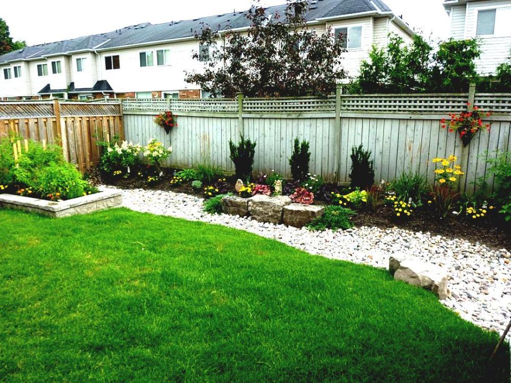 Cheap Landscape Ideas For Large Backyard
