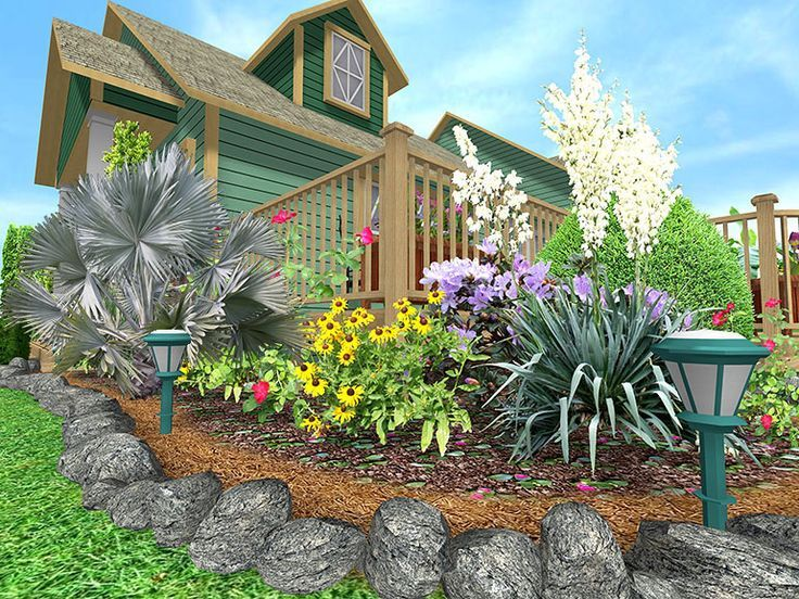 Cheap Landscaping Border Ideas
