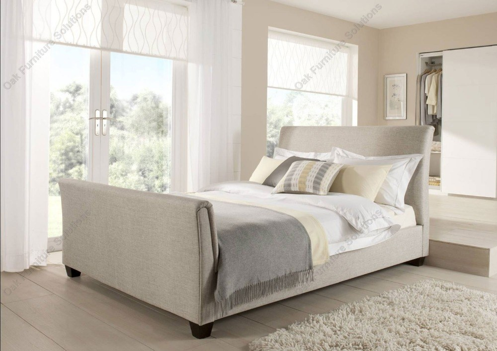 Cheap Upholstered Queen Bed Frame