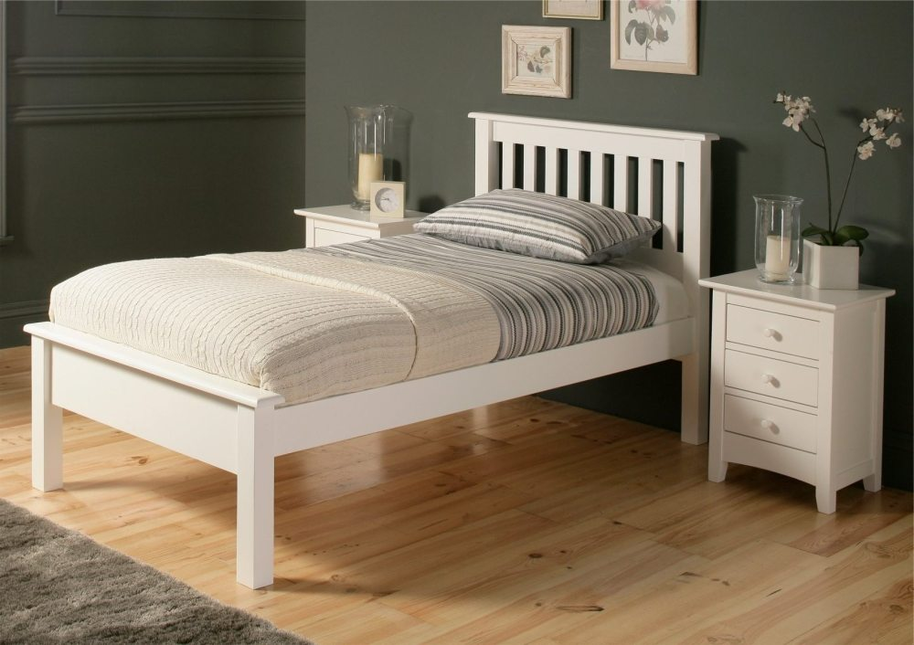 Cheap White Twin Bed Frame