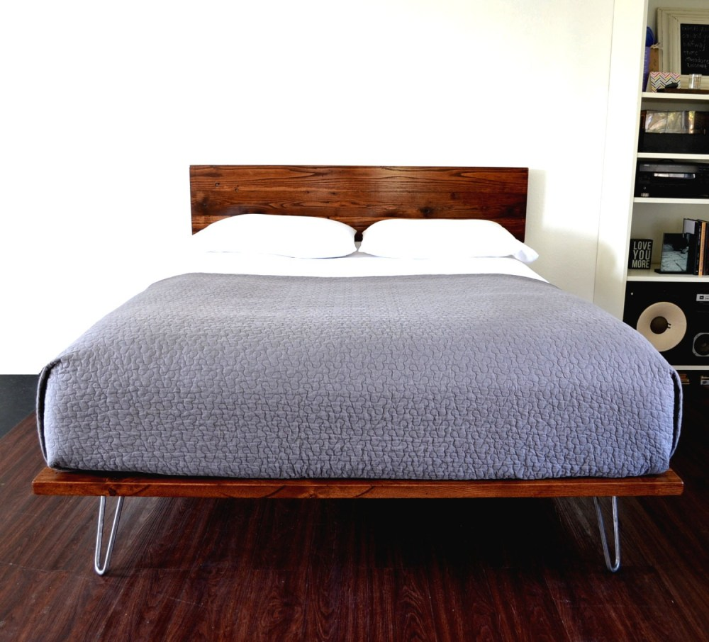 Cherry Wood Bed Frame Full