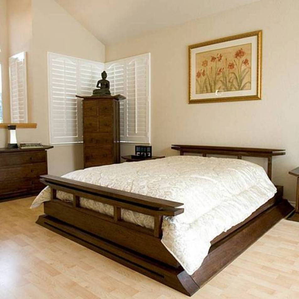 Chinese Style Bed Frame