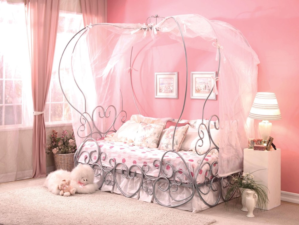 Cinderella Canopy Twin Bed Frame