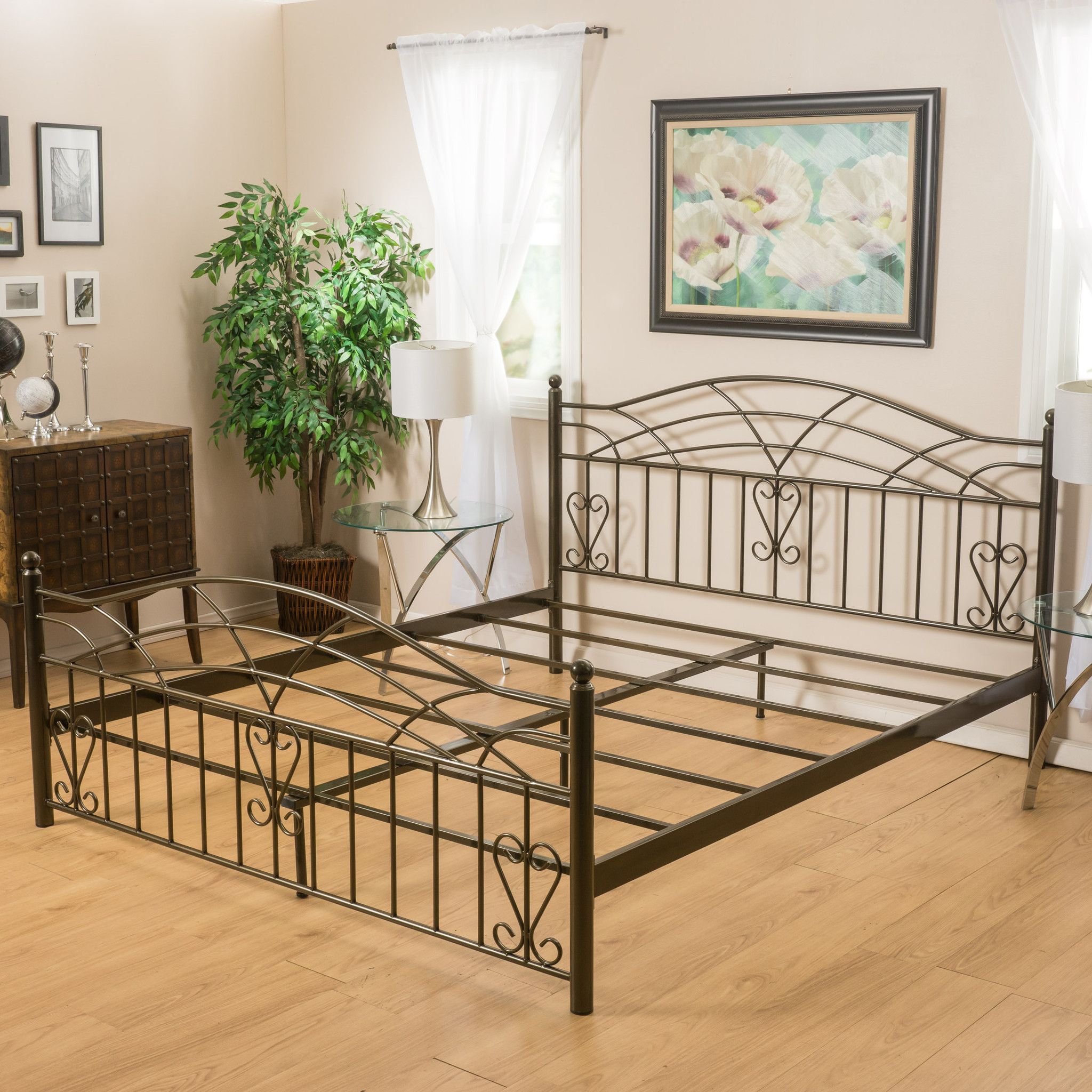 Copper Bed Frame Queen