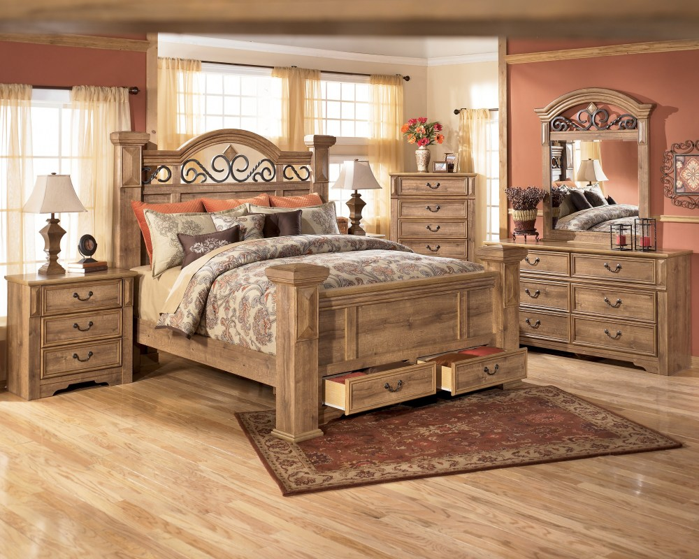 Corner Bed Frame King