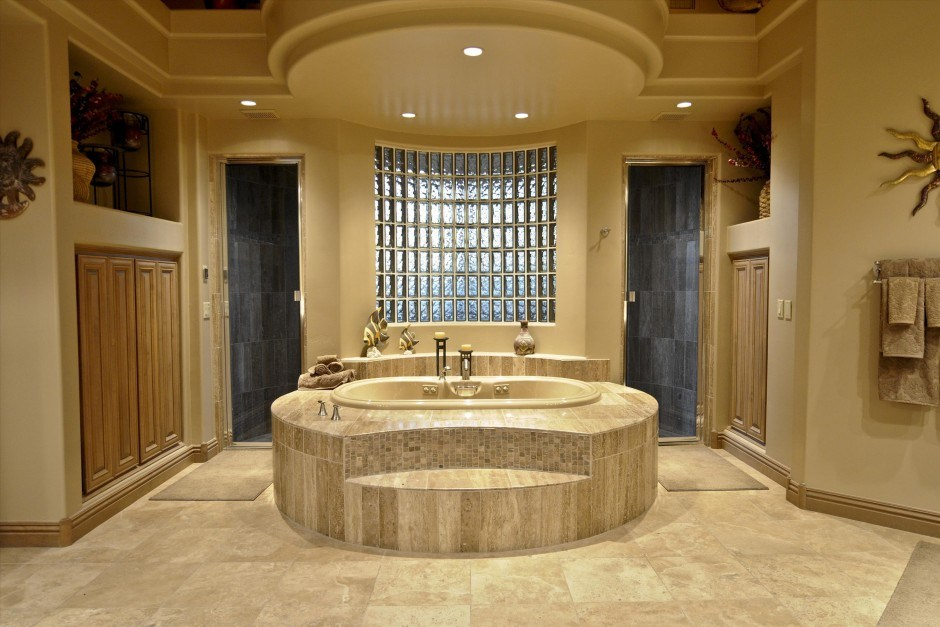 Cottage Bathroom Flooring Ideas