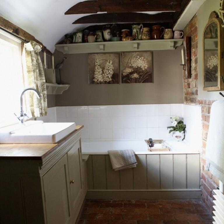 Country Bathroom Ideas For Small Bathrooms