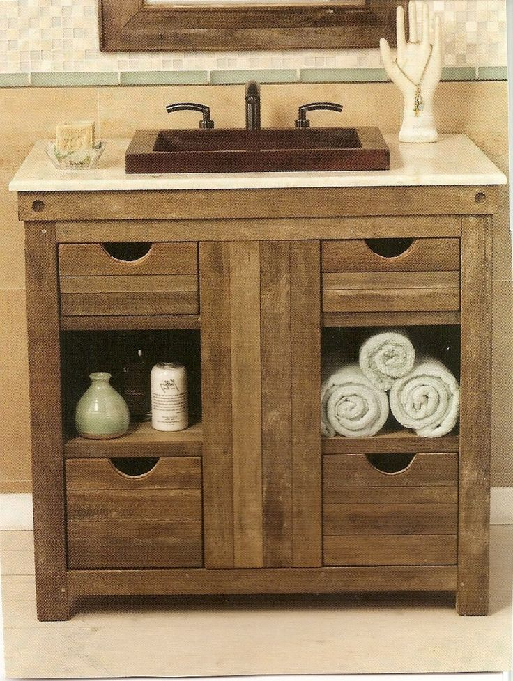 Country Bathroom Ideas Pinterest