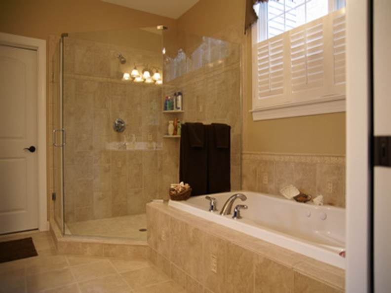Country Bathroom Ideas With Showers