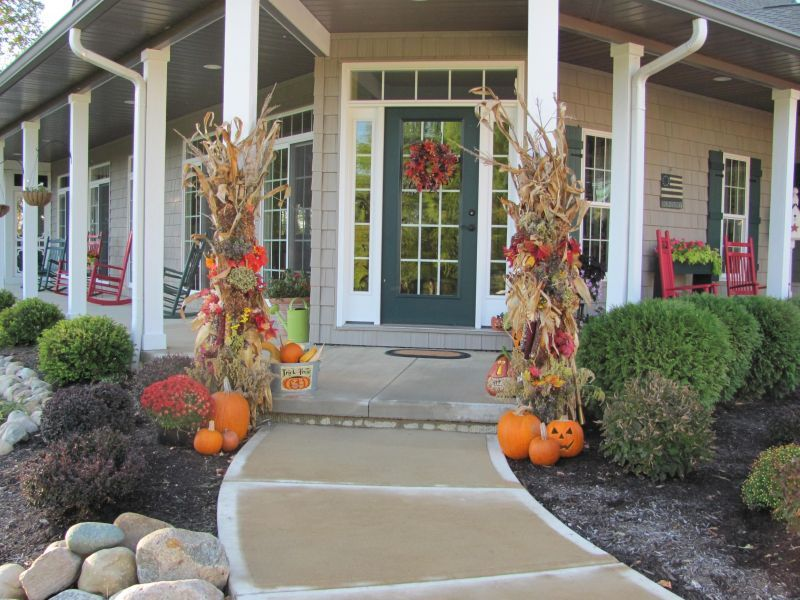 Country Front Porch Landscaping Ideas