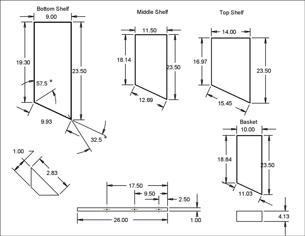 Country Style Bed Frame Plans