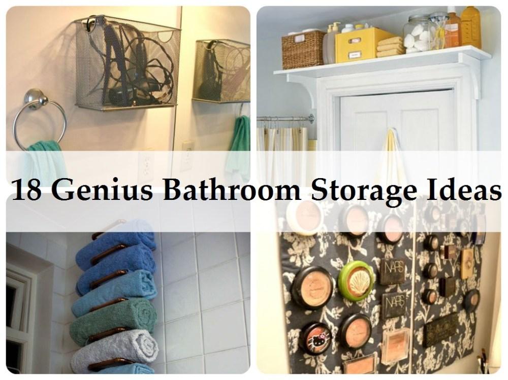 Cute Bathroom Storage Ideas