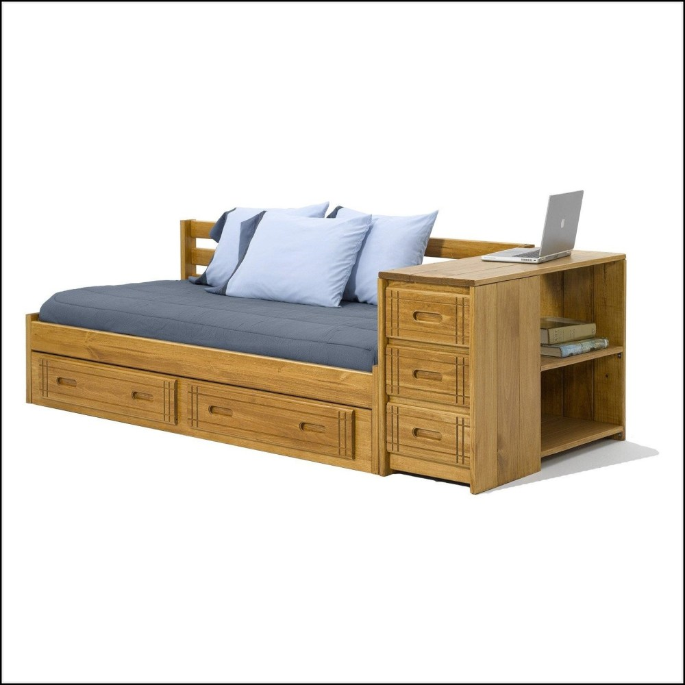 Daybed Frame With Storage