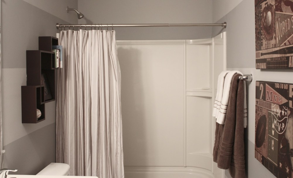Decorating Bathroom Ideas With Shower Curtains