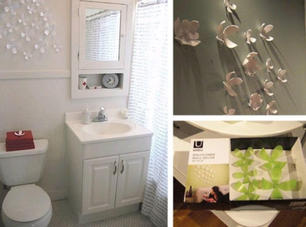 Decorating Ideas For Small Bathroom Walls
